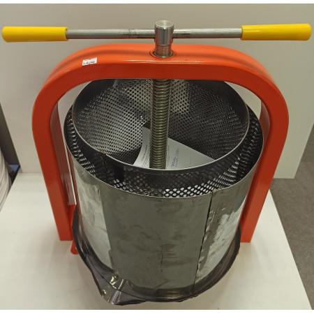 Пресс для отжима сока винтовой ЛАН 20 литров