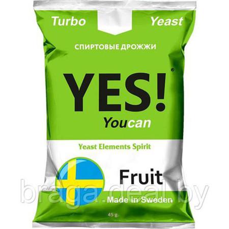 Дрожжи YES Frukt 45гр.
