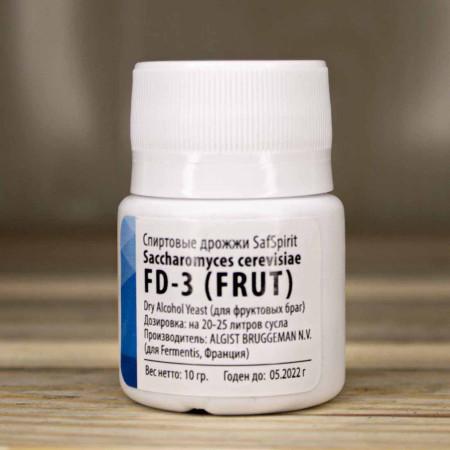 Дрожжи SafSpirit FD-3 Fruit, банка 10гр.