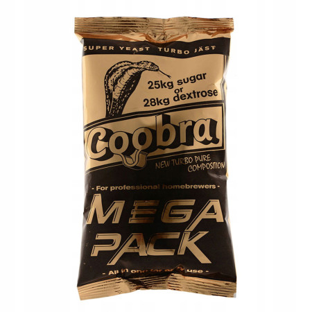 Дрожжи COOBRA Mega Pack на 100 литров